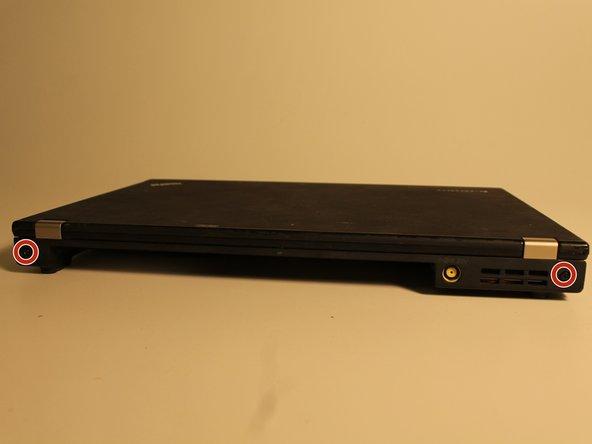 Close laptop.