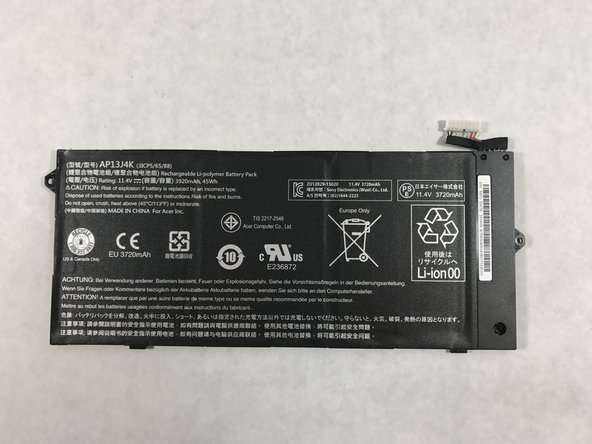 Carefully remove the battery from the device to ensure no other parts of the device will get damaged. Damaging other parts can result in having to replace them as well and some can be expensive.