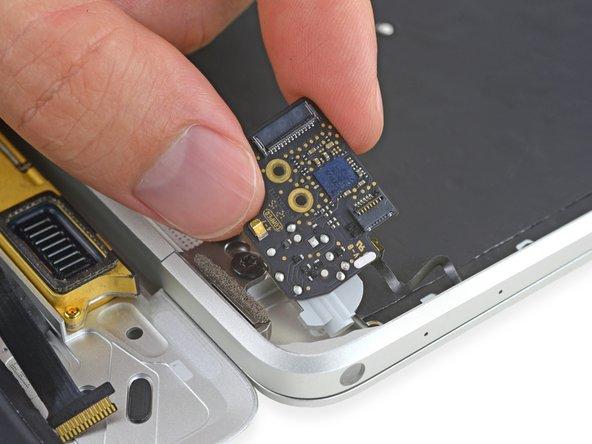 Retina MacBook 2015 Platine der Kopfhörerbuchse austauschen