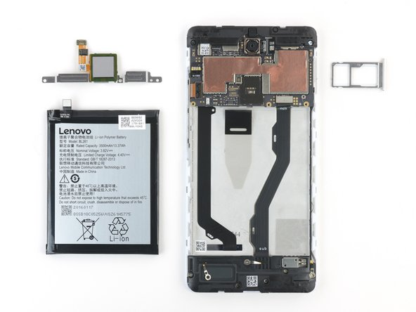 Once the bracket's removed, there's a pull tab for easy battery removal.