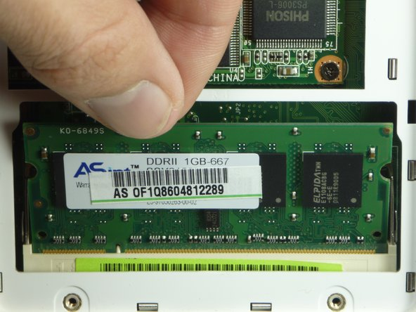 Asus Eee PC 900 RAM Replacement