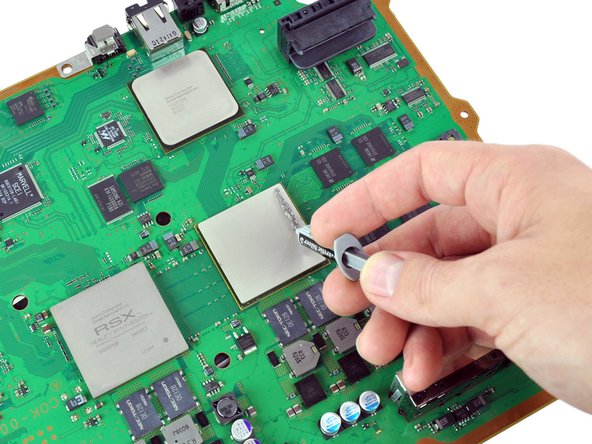 Ensure that the motherboard has completely cooled before continuing this guide.