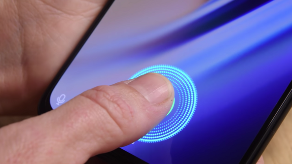 Galaxy S10 ultrasonic fingerprint sensor