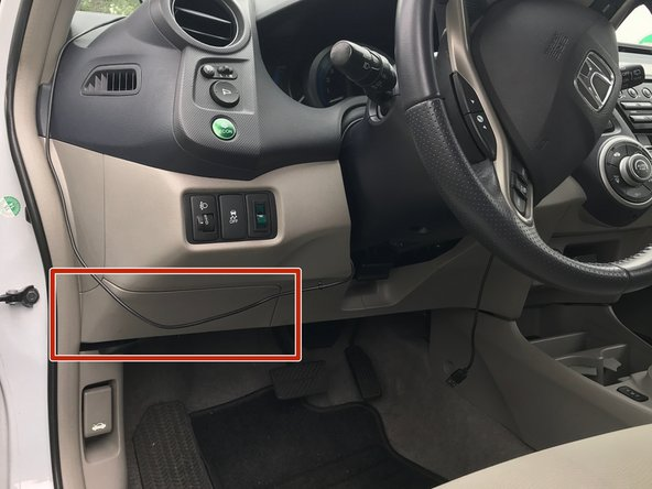 Once you connect the power the alarm may go off (depending on how you opened the car)