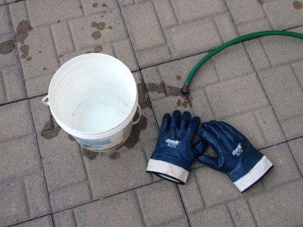 C'est la dernière étape où vous avez de l'eau courante dans la roulotte