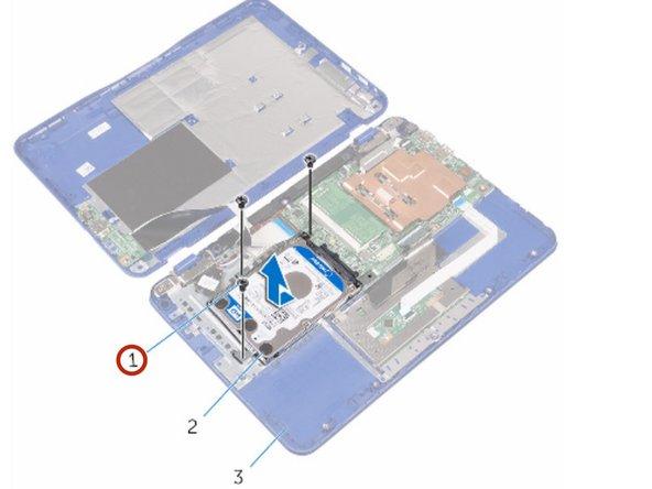 Dell Inspiron 11-3162 Reemplazo del Disco Duro
