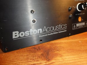 Boston Acoustics Micro90pv Repair