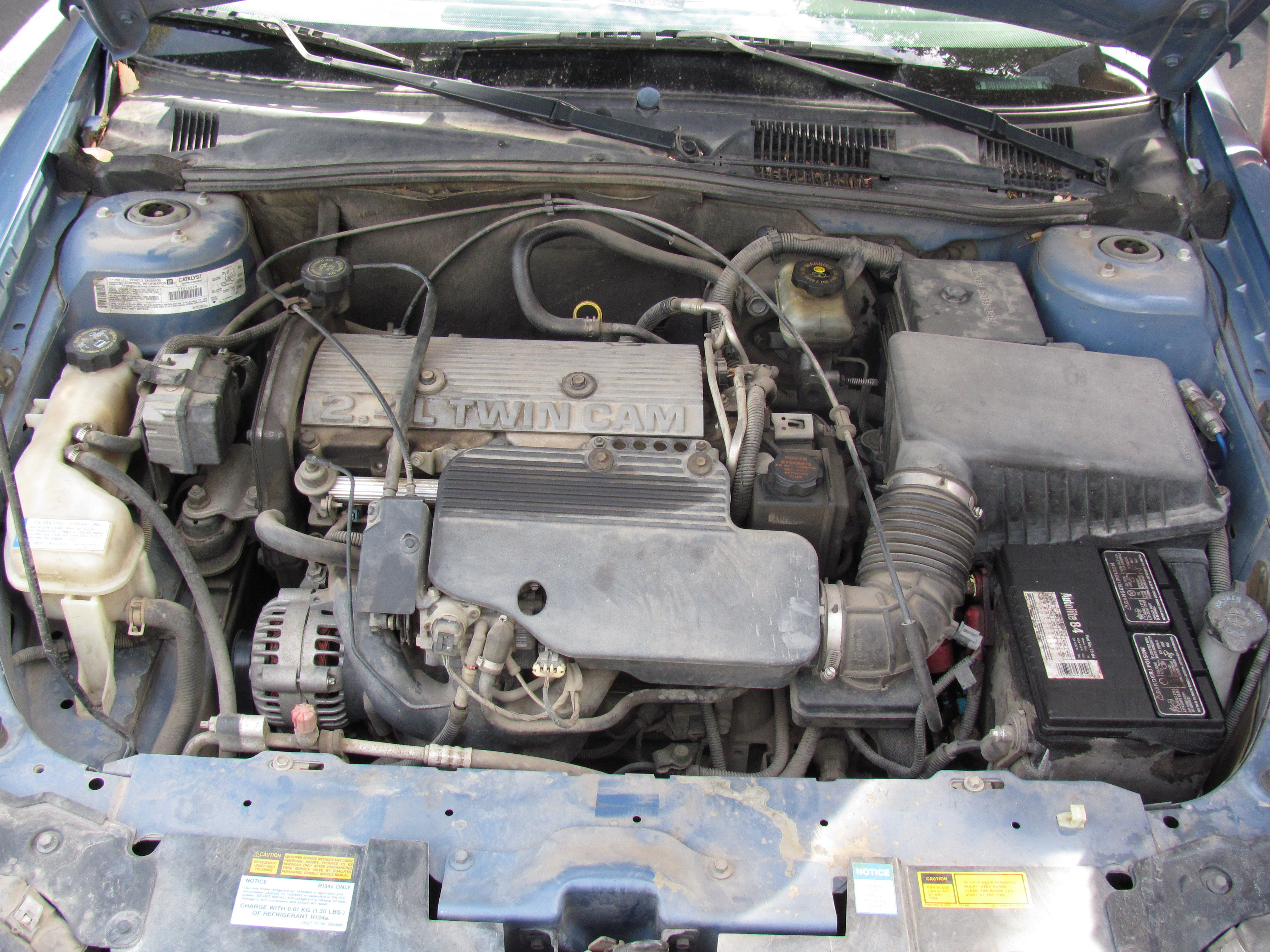 1997-2003 Chevrolet Malibu Fluid Check