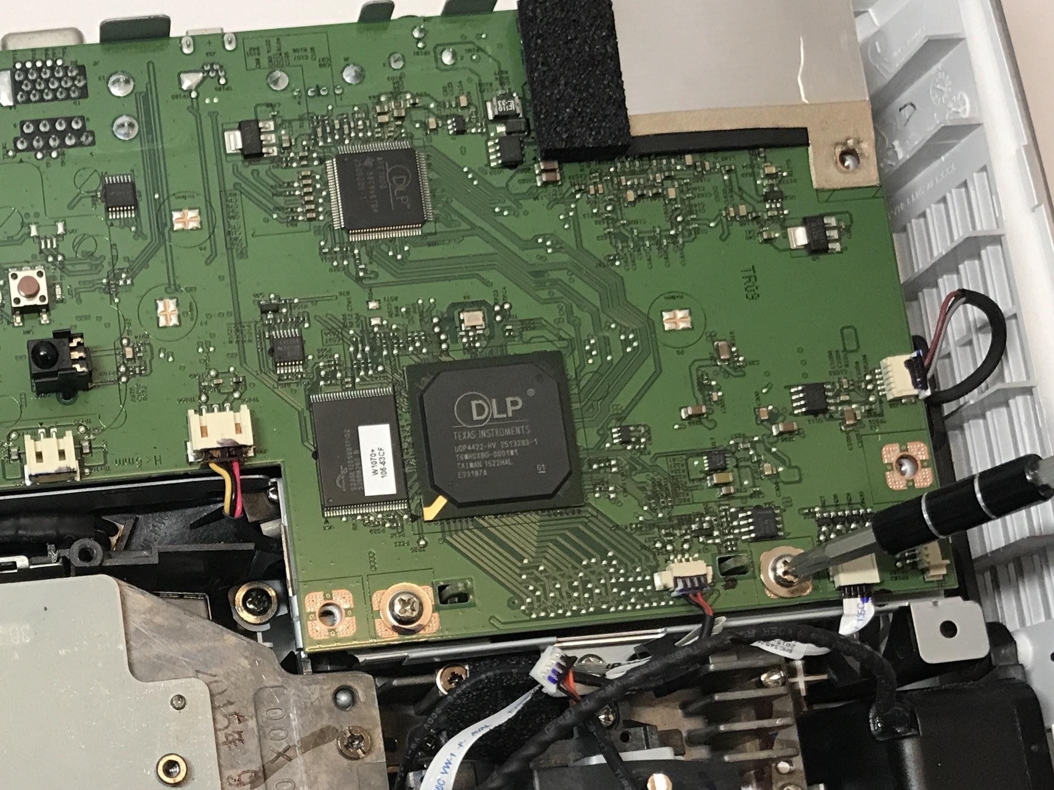 Benq Ht1075 Projector Repair Ifixit Wiring Diagram Circuit Board