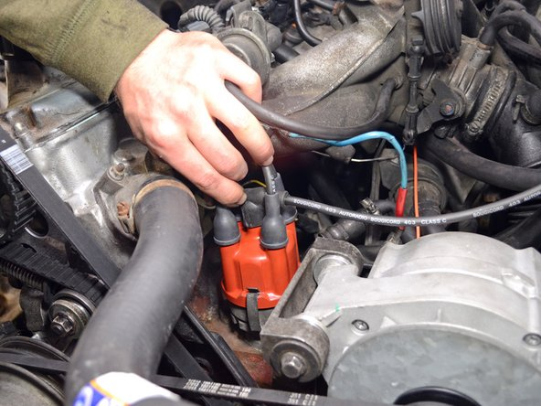 To avoid any confusion between which wire goes to which spark plug, replace spark plug wires one at a time. You may want to mark either the old or new wires to remind yourself which ones you've changed.