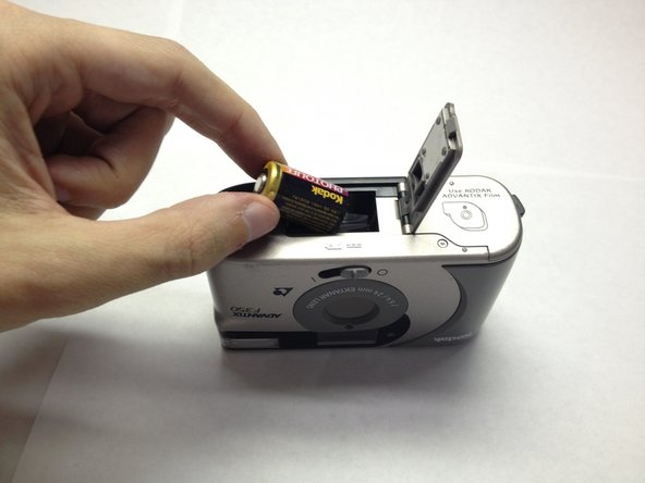 With your fingers, remove the battery and replace with new one.