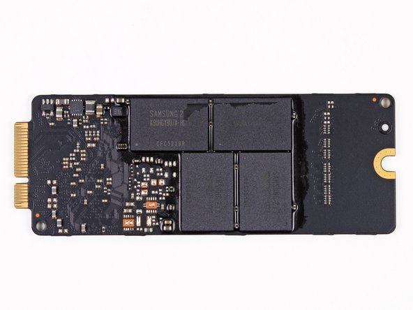Samsung S4LJ204X01 3-core ARM SSD controller chip - revision seems newer than 830-series SSD