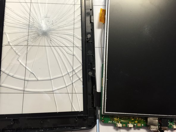 Install new screen for your tablet.