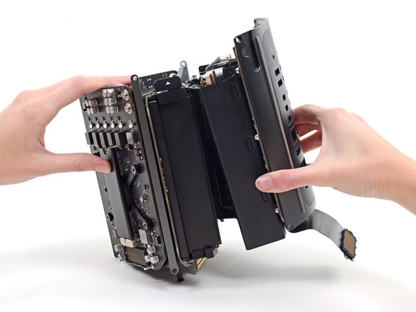 Remove the power supply assembly from the Mac Pro.