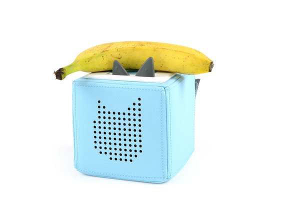 Placing the banana onto the NFC sensor also doesn't play anything.