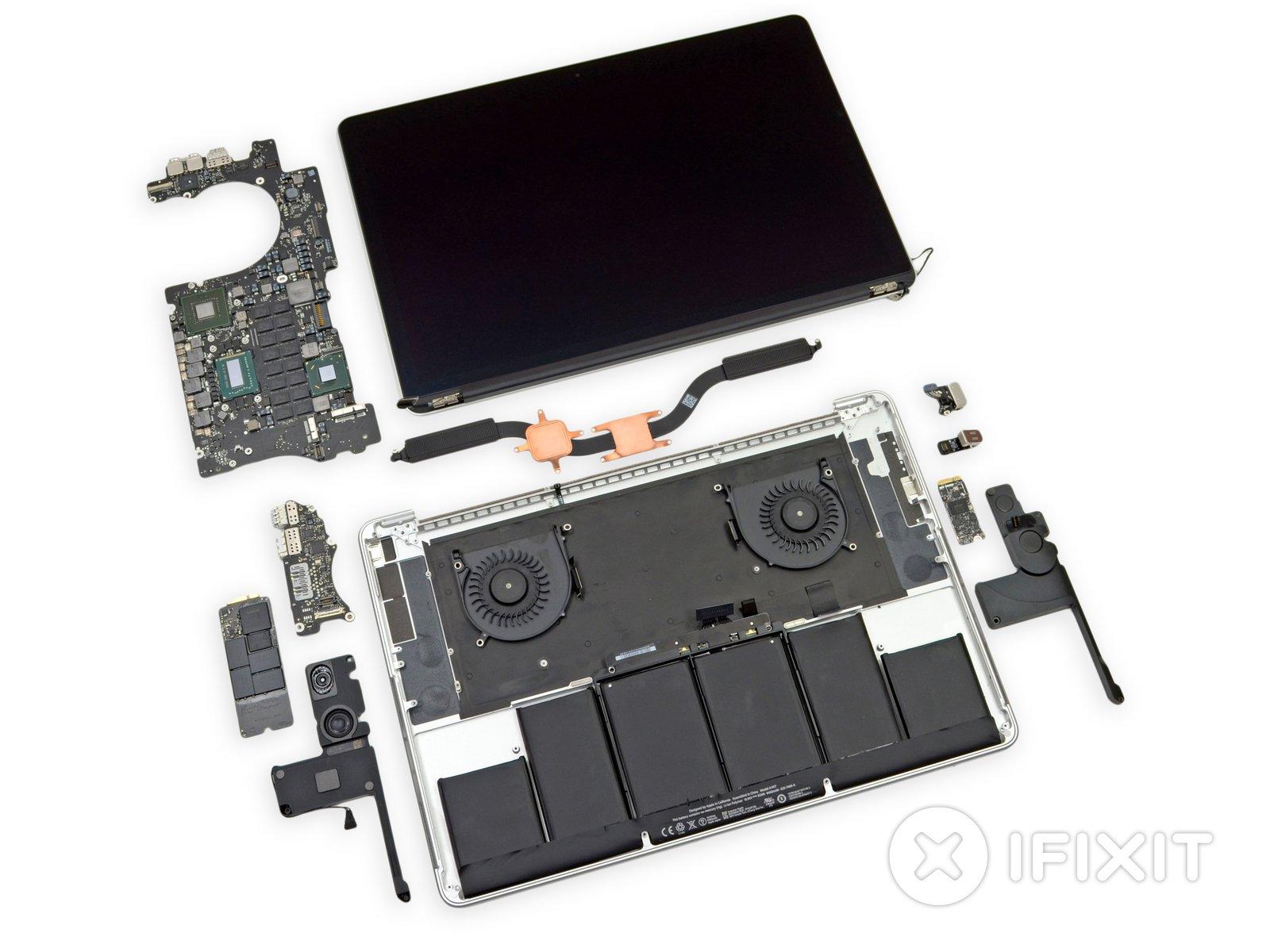Macbook Pro 15 Retina Display Mid 2012 Teardown Ifixit No Disassemble Johnny 5is Alive