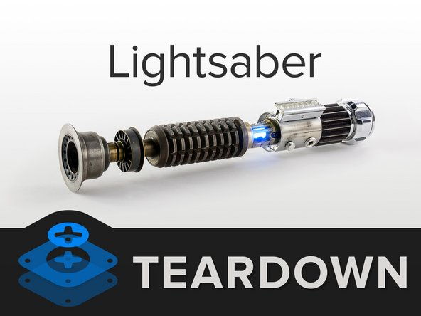 Listen up, nerfherders: We've got a lightsaber on the teardown table. Before we dive in, let's take a look at the specs: