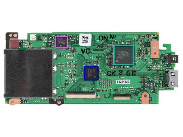 Image 2/2: Nikon EXPEED 2 EI-154 1051 Z05 image processor