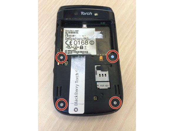 Blackberry Torch 9800 Replacing rear camera