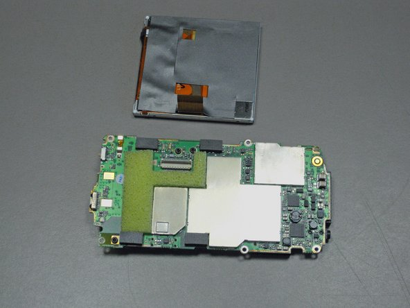 Image 2/2: Remove the LCD screen.