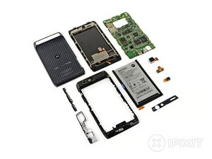 Motorola Droid RAZR Teardown