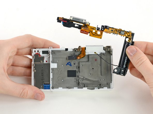 Remove the flash assembly by gently pulling it away from the case.