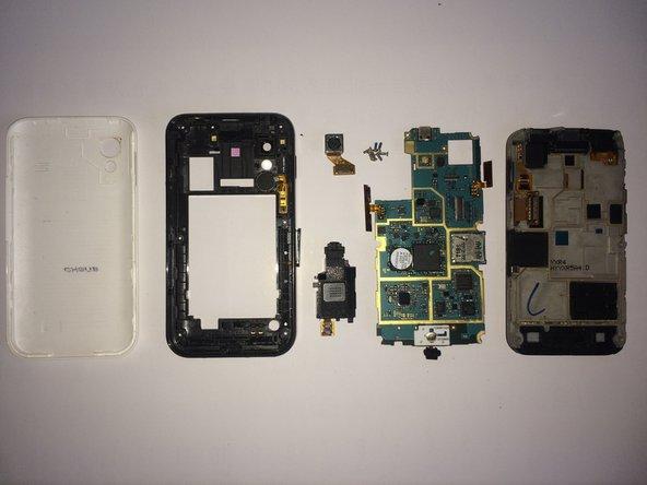 重新组装手机,请按照原来的顺序,逆向重组。