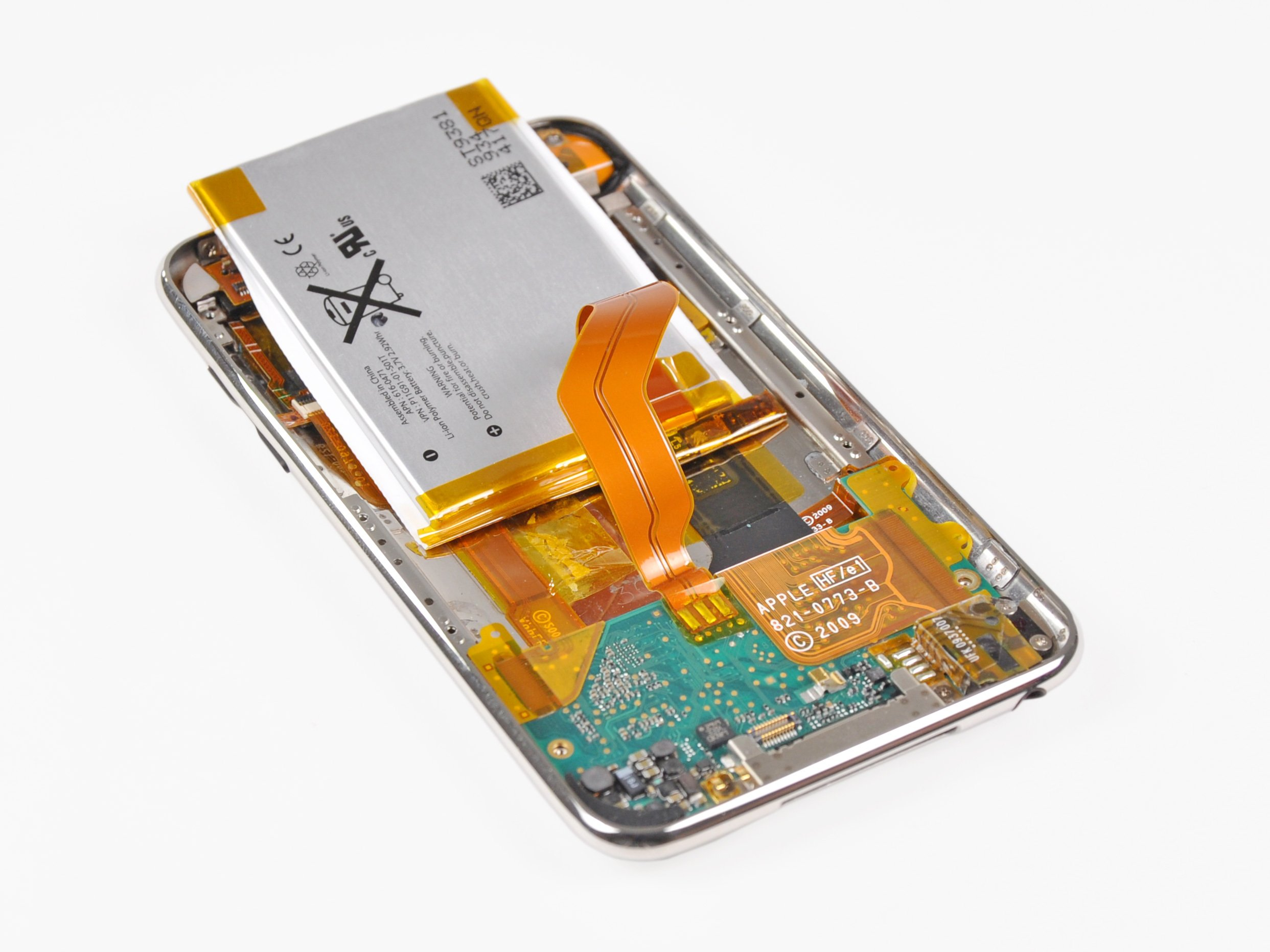 Ipod Touch 3rd Generation Battery Replacement Ifixit Repair Guide