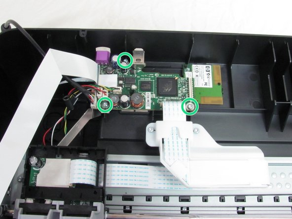 HP Photosmart c4780 Motherboard Replacement