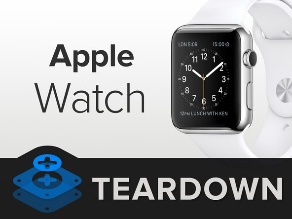 Apple Watch Teardown Ifixit