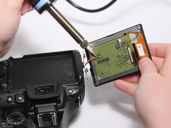 Image 1/2: Soldering irons become very hot when in use. Take all necessary precautions to avoid injury.