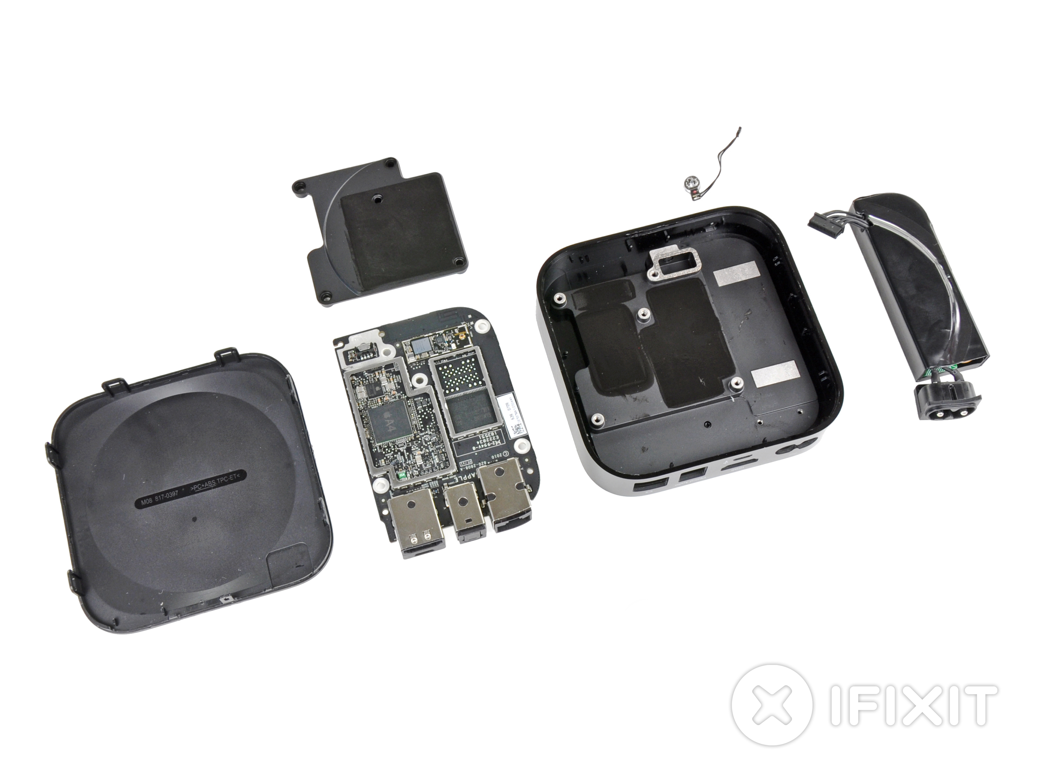 Apple Tv 2nd Generation Teardown Ifixit To Vga Schematic
