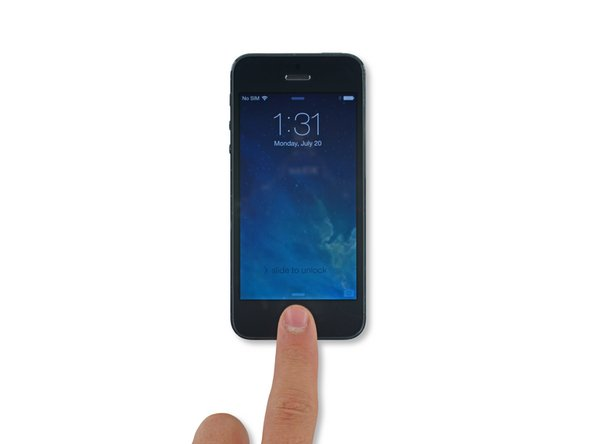 force shutdown iphone how to restart an iphone 5 ifixit repair guide 10634