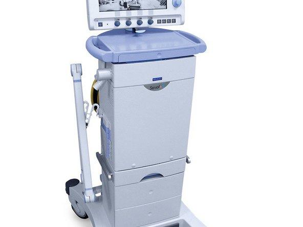 Sostituzione Pannello Anteriore dell'unità paziente del ventilatore Servo-i