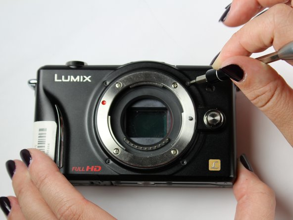 Panasonic Lumix DMC-GF2 Front Cover Replacement