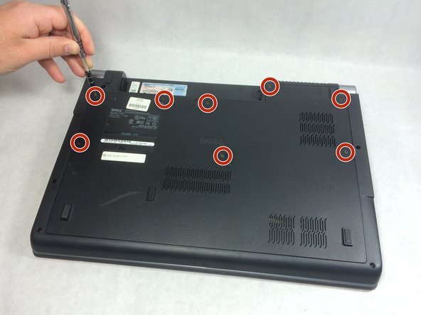 Dell Studio 1737 Back Panel Replacement