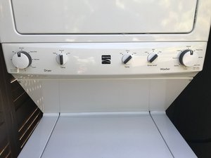 Washer won't start on Kenmore washer - Combo Washer Dryer ... on