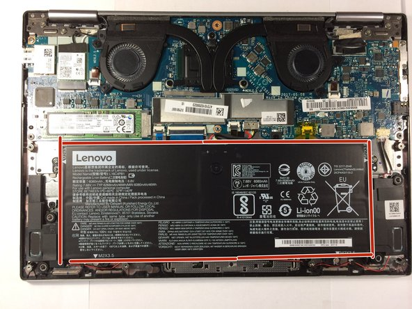 Lenovo Yoga 720 Battery Replacement