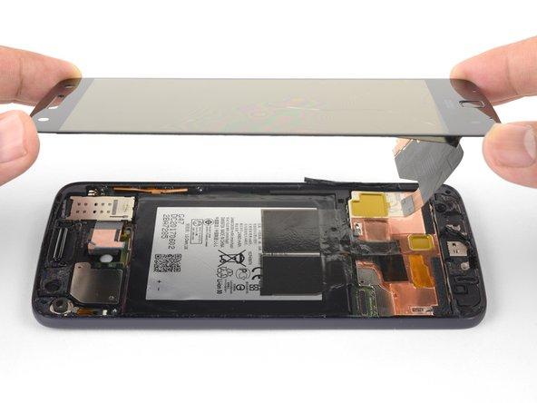 Remplacement de l'écran complet du Motorola Moto Z