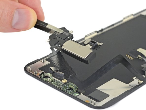 iPhone 11 Pro Max Earpiece Speaker and Front Sensor Assembly Replacement
