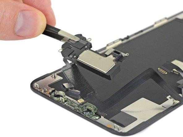 Reemplazo de ensamblaje del sensor frontal y altavoz auricular del iPhone 11 Pro Max
