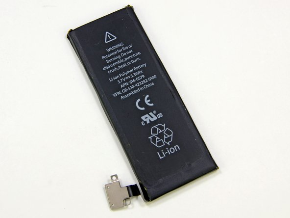 Image 2/3: '''iPhone 5 Battery:''' 3.8V - 5.45Wh - 1440mAh. Talk time: Up to 8 hours on 3G. Standby time: Up to 225 hours.