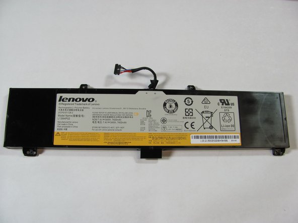 Lenovo Y50-70 Touch Battery Replacement