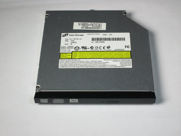 Toshiba Satellite L675D-S7016 Disk Drive Replacement