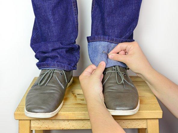 hemming pants repair guides