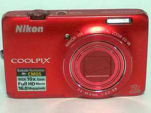 Nikon Coolpix S6300 Repair