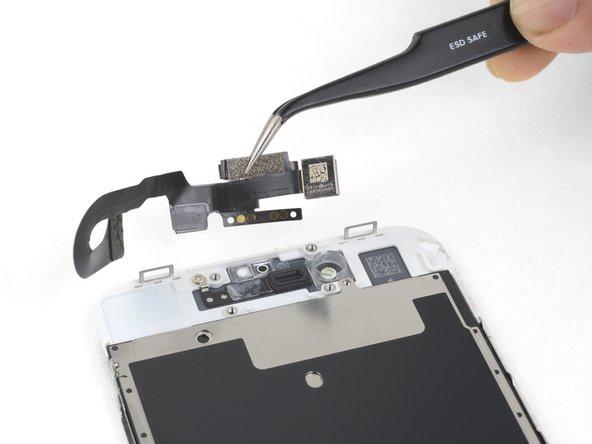 Sostituzione fotocamera frontale e cavo sensori iPhone 8