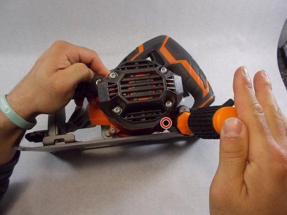 Use a T25 Torx screwdriver to remove 3  (M5 x 58 mm) screws.