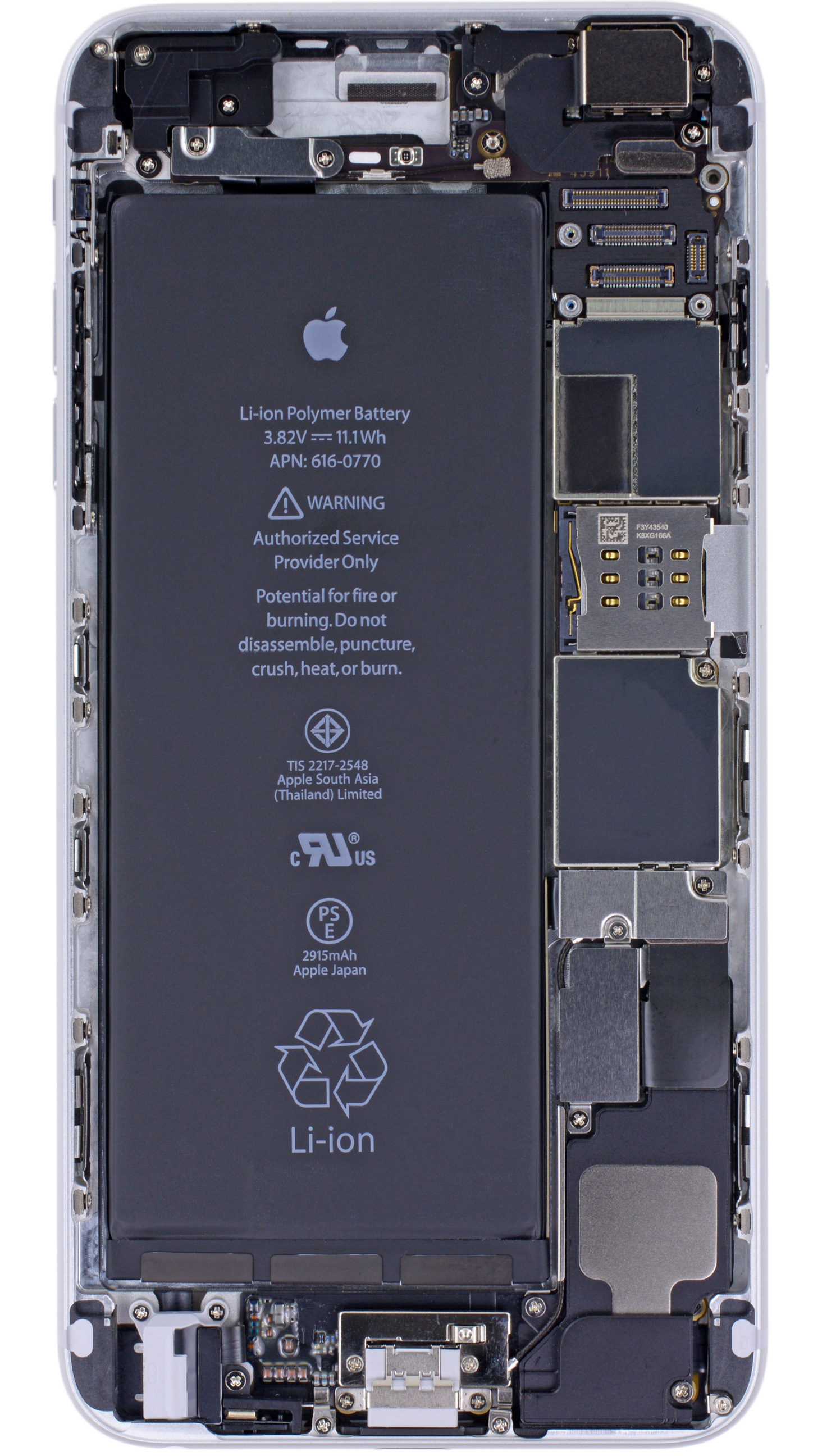 iphone 6 and 6 plus x ray vision wallpapers ifixit
