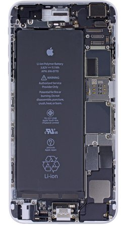 iPhone 6 Plus internals wallpaper